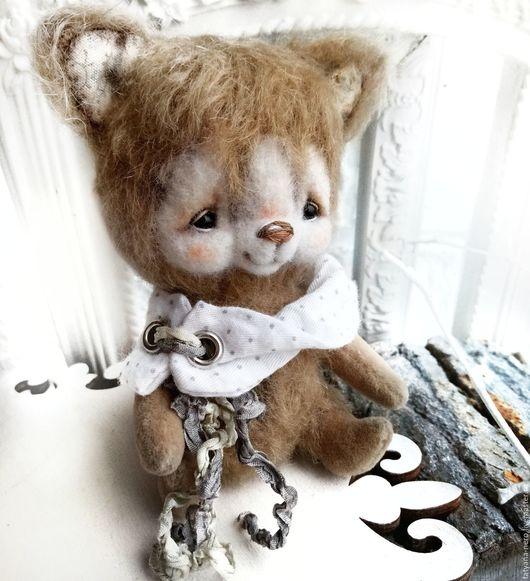Мишки Тедди ручной работы. Ярмарка Мастеров - ручная работа. Купить Друг тедди- малыш Щеночек тедди. Handmade. Бежевый