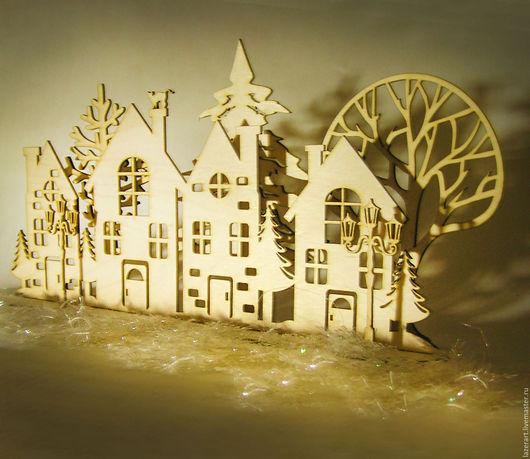 Кукольный театр ручной работы. Ярмарка Мастеров - ручная работа. Купить Мини декорации. Handmade. Бежевый, декор для интерьера