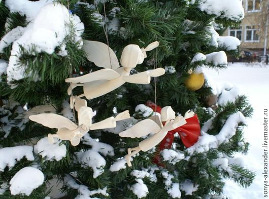 Коллекционные куклы ручной работы. Ярмарка Мастеров - ручная работа. Купить Ангел Парящий Новогодний. Handmade. Разноцветный, ангел-хранитель