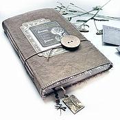 """Блокноты ручной работы. Ярмарка Мастеров - ручная работа Блокнот """"Садовый дневник"""". Handmade."""