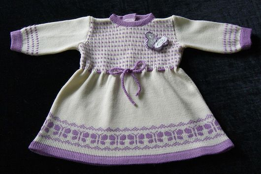 Одежда для девочек, ручной работы. Ярмарка Мастеров - ручная работа. Купить Платье для девочки Бабочки. Handmade. Платье для девочки