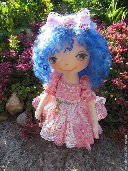 Коллекционные куклы ручной работы. Ярмарка Мастеров - ручная работа. Купить Кукла МАЛЬВИНА. Handmade. Розовый, кукла ручной работы