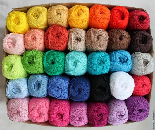 Вязание ручной работы. Ярмарка Мастеров - ручная работа. Купить Пряжа COCO vita cotton 35 цветов. Handmade. сосо