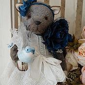 Куклы и игрушки ручной работы. Ярмарка Мастеров - ручная работа Амели - плюшевый котик. Handmade.