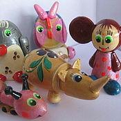 Куклы и игрушки ручной работы. Ярмарка Мастеров - ручная работа Деревянные игрушки детям и коллекционерам. Handmade.