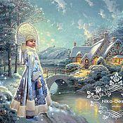 Одежда ручной работы. Ярмарка Мастеров - ручная работа Карнавальный костюм Снегурочки. Handmade.