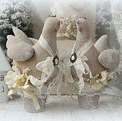 Подарки к праздникам ручной работы. Ярмарка Мастеров - ручная работа Символ года -Курочки и Петушки. Handmade.