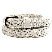 Аксессуары handmade. Livemaster - original item White wicker belt. Handmade.