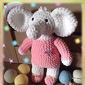Куклы и игрушки ручной работы. Ярмарка Мастеров - ручная работа Плюшевая игрушка Слоник Тома. Handmade.