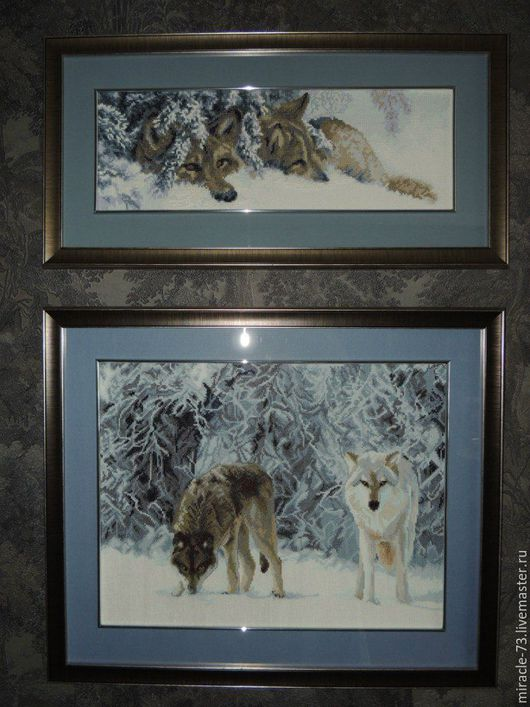 Волки (диптих)