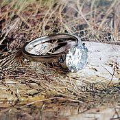 Кольцо с муассанитом