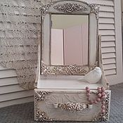 Для дома и интерьера handmade. Livemaster - original item Chest of drawers with Vintage mirror. Handmade.