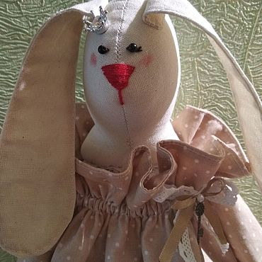 Для дома и интерьера ручной работы. Ярмарка Мастеров - ручная работа Кармашки: зайка-пакетница. Handmade.