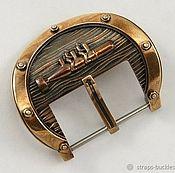"""Часы наручные ручной работы. Ярмарка Мастеров - ручная работа Часовая пряжка (бакля) из бронзы """"Диверсанты"""" 24 мм. Handmade."""
