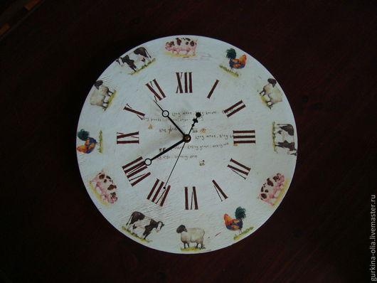 "Часы для дома ручной работы. Ярмарка Мастеров - ручная работа. Купить Часы ""Кантри"". Handmade. Нежные часы, часы настенные"