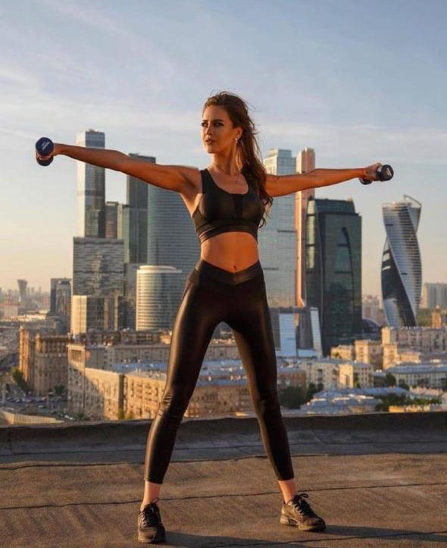 Спортивные Леггинсы Designed for Fitness Disco Black, Спортивные костюмы, Москва,  Фото №1