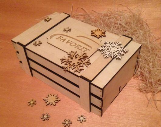 Упаковка ручной работы. Ярмарка Мастеров - ручная работа. Купить Реечный ящик для подарков. Handmade. Подарки ручной работы