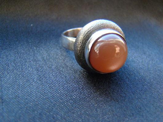 Кольца ручной работы. Ярмарка Мастеров - ручная работа. Купить Кольцо с ортоклазом. Handmade. Серебряный, ортоклаз