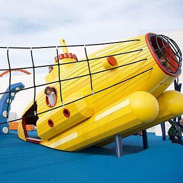 """Для дома и интерьера ручной работы. Ярмарка Мастеров - ручная работа Детская площадка """"Подводная лодка и морские монстры"""". Handmade."""