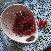 Посуда ручной работы. Ярмарка Мастеров - ручная работа БРОНЬ!!!Berry Bowl Жемчужинка. Handmade.