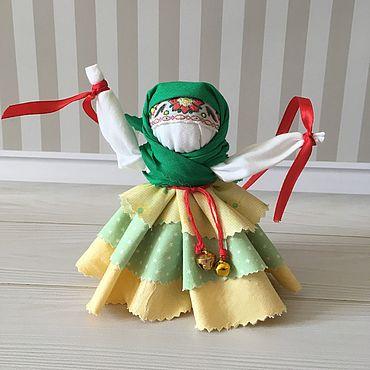 Куклы и игрушки ручной работы. Ярмарка Мастеров - ручная работа Куклы: Оберег Колокольчик. Handmade.