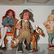 Куклы и игрушки ручной работы. Ярмарка Мастеров - ручная работа Сказочный коротышка.(сафари). Handmade.