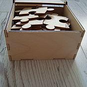 Сувениры и подарки handmade. Livemaster - original item Gift box made of wood. Handmade.