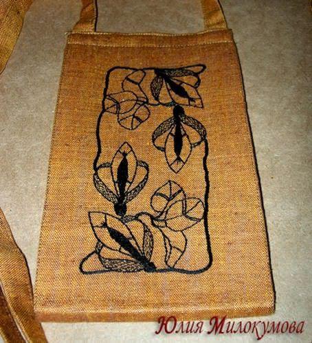 Женские сумки ручной работы. Ярмарка Мастеров - ручная работа. Купить Сумочка-ксивник для путешествий. Handmade. Лен, ар деко