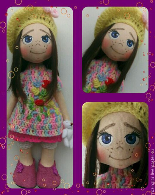 Коллекционные куклы ручной работы. Ярмарка Мастеров - ручная работа. Купить Весенняя. Handmade. Кукла ручной работы, интерьерная игрушка