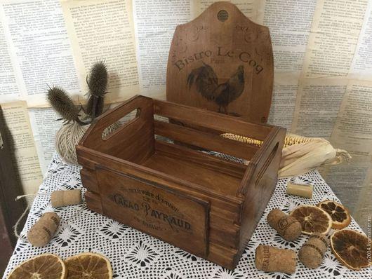 """Корзины, коробы ручной работы. Ярмарка Мастеров - ручная работа. Купить Ящик , короб, корзинка """" монохром"""". Handmade."""