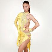 Одежда handmade. Livemaster - original item Ballroom dress  SASSY YELLOW. Handmade.