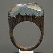 """Украшения ручной работы. Ярмарка Мастеров - ручная работа Деревянное кольцо """"Волшебная  принцесса 22"""", кольцо из дерева. Handmade."""