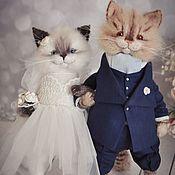 Куклы и игрушки handmade. Livemaster - original item Wedding couple. Handmade.