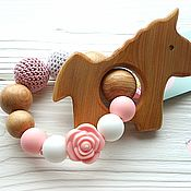 Куклы и игрушки handmade. Livemaster - original item Teething toy for teeth