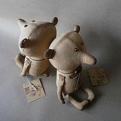 Куклы и игрушки ручной работы. Ярмарка Мастеров - ручная работа Кофейные мишки.. Handmade.