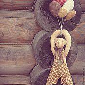 Куклы и игрушки ручной работы. Ярмарка Мастеров - ручная работа Летящие мишки.Мальчик.. Handmade.