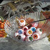 Подарки к праздникам handmade. Livemaster - original item Spooky eyeball. Handmade.