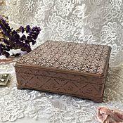 Для дома и интерьера handmade. Livemaster - original item Jewelry box. Decoupage. Handmade.
