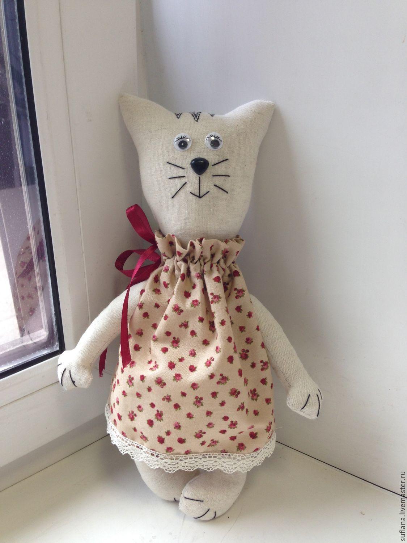 ручной работы. Ярмарка Мастеров - ручная работа. Купить котик. Handmade. Кот, котенок, бежевый, коты и кошки, кот игрушка