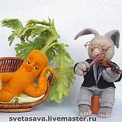 """Куклы и игрушки ручной работы. Ярмарка Мастеров - ручная работа """"Серенада для любимой"""" или """"любовь-морковь"""". Handmade."""