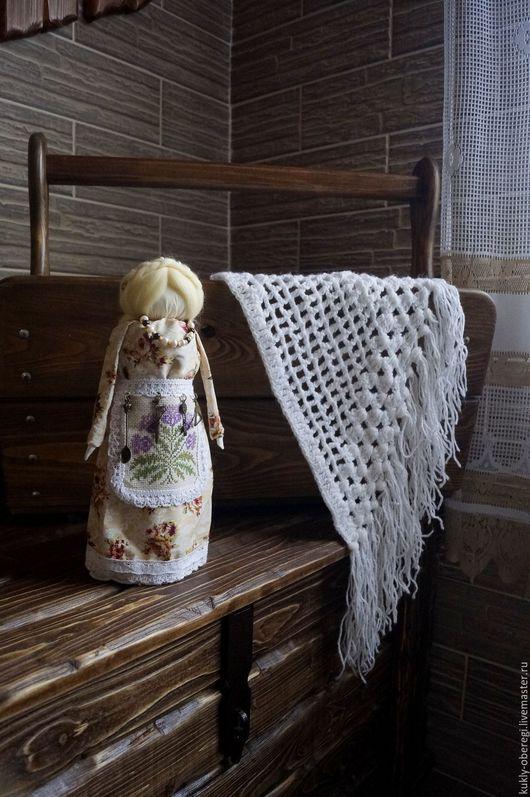 Народные куклы ручной работы. Ярмарка Мастеров - ручная работа. Купить Берегиня домашнего очага. Handmade. Бежевый, оберег для семьи