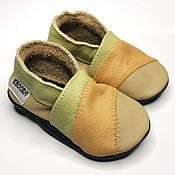 Одежда детская handmade. Livemaster - original item Baby Leather Shoes,Baby Shoes,Ebooba,Baby Moccasins. Handmade.