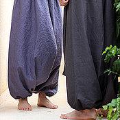 Одежда ручной работы. Ярмарка Мастеров - ручная работа Mужские и женские Aфгани - лен с хлопком. Handmade.