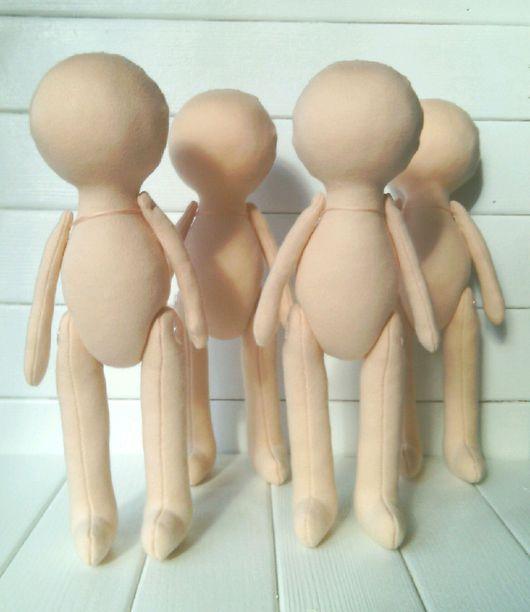 Куклы и игрушки ручной работы. Ярмарка Мастеров - ручная работа. Купить Заготовка куклы 26 см. Handmade. Кукла интерьерная
