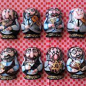 Магниты ручной работы. Ярмарка Мастеров - ручная работа Магнит Еврейский сувенир. Handmade.