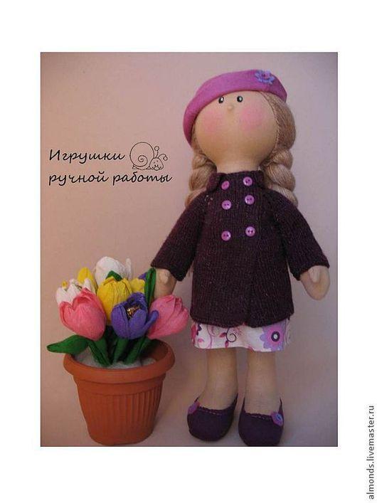 Человечки ручной работы. Ярмарка Мастеров - ручная работа. Купить Кукла Сиренька. Handmade. Кукла, текстильная кукла, игрушка, хлопок