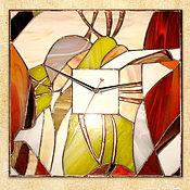 Для дома и интерьера ручной работы. Ярмарка Мастеров - ручная работа Часы  АБСТРАКЦИЯ. Handmade.