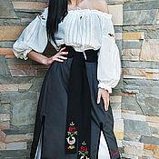 Одежда handmade. Livemaster - original item Women`s embroidered costume with skirt