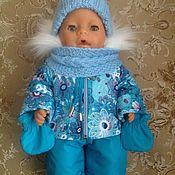 Одежда для кукол ручной работы. Ярмарка Мастеров - ручная работа Зимняя одежда на беби бон. Handmade.