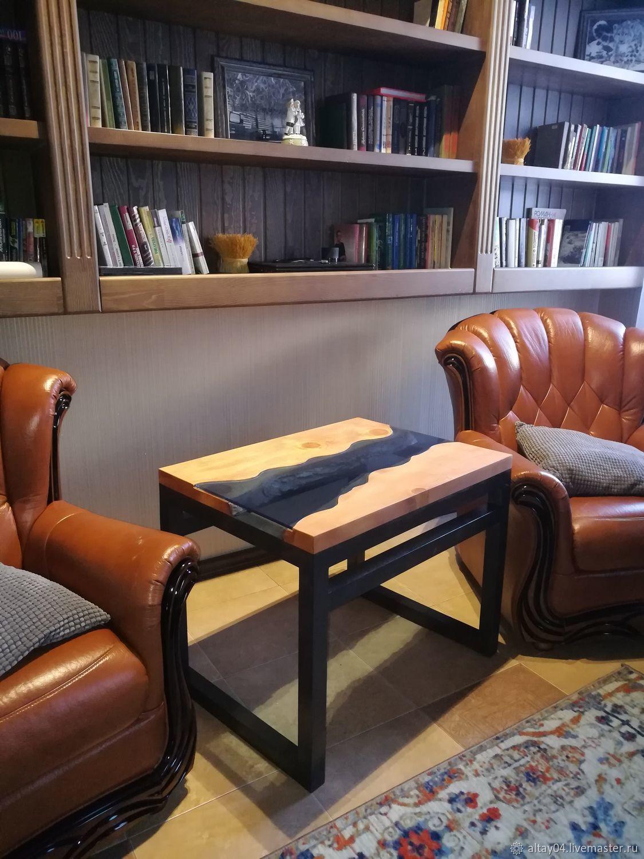 Coffee table in solid cedar Graceful, Tables, Turochak,  Фото №1